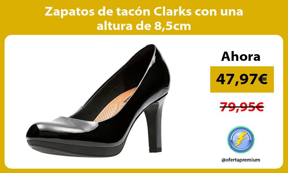 Zapatos de tacon Clarks con una altura de 85cm