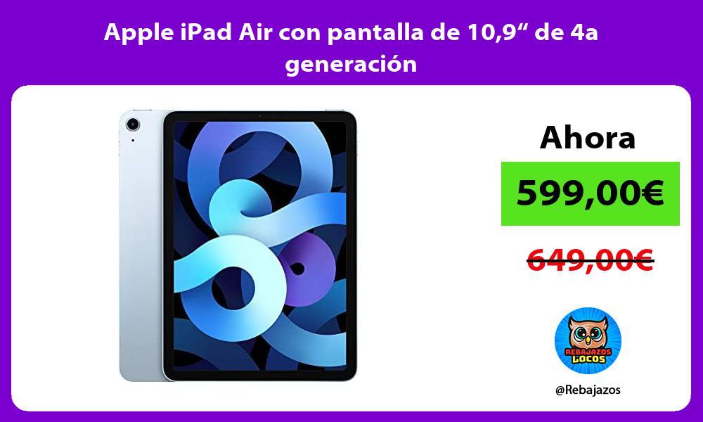 Apple iPad Air con pantalla de 109 de 4a generacion