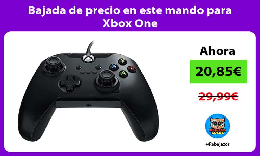 Bajada de precio en este mando para Xbox One