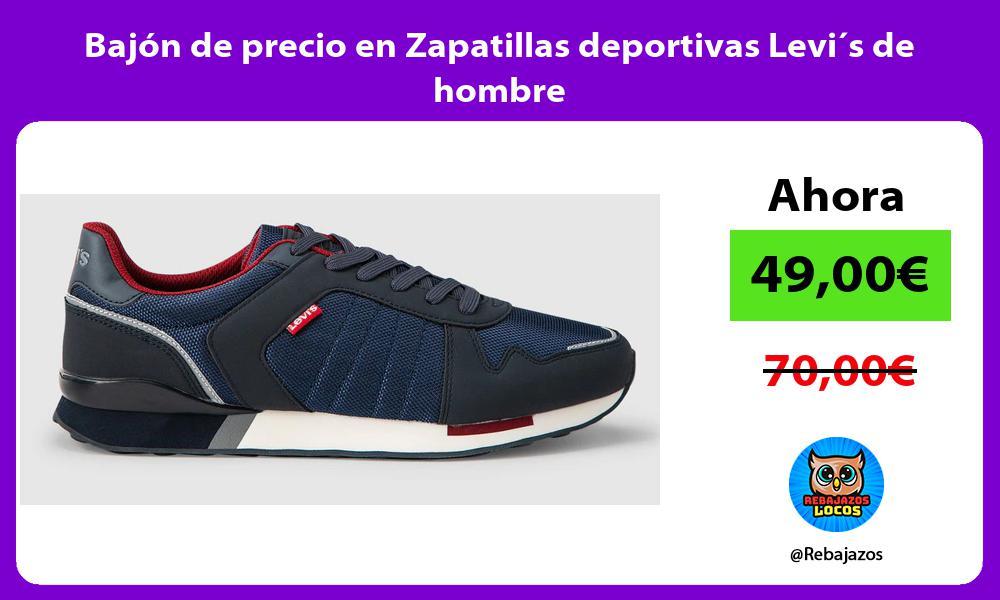 Bajon de precio en Zapatillas deportivas Levi´s de hombre