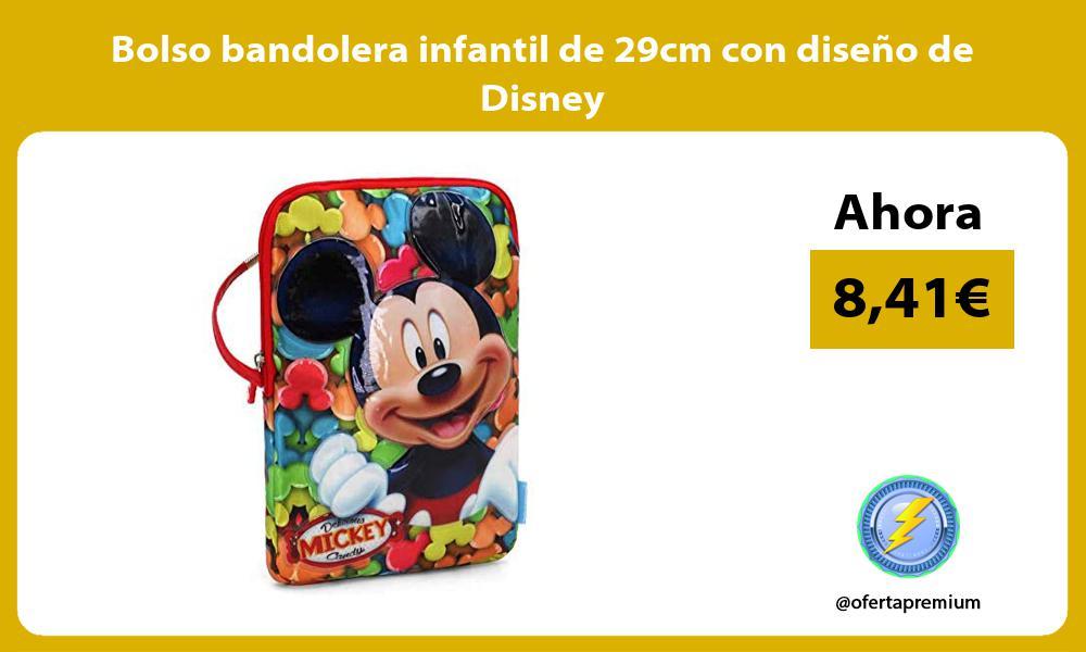 Bolso bandolera infantil de 29cm con diseno de Disney