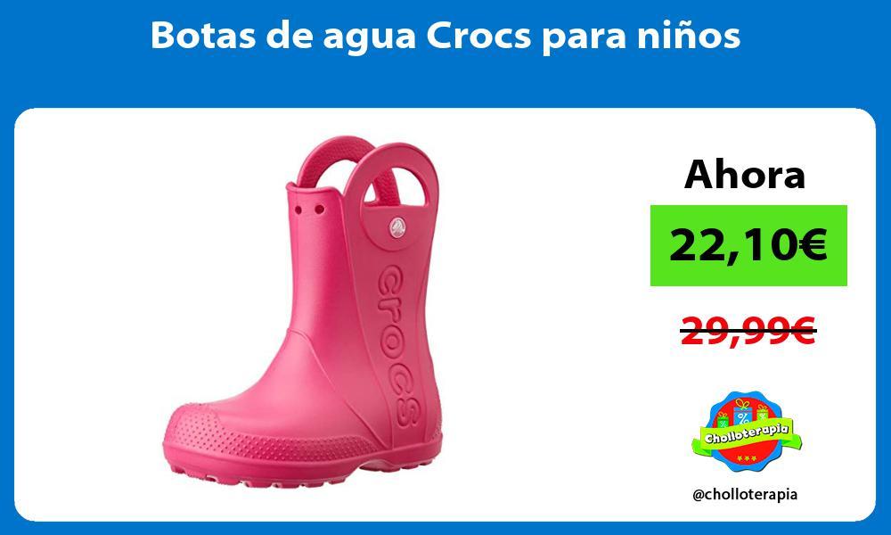 Botas de agua Crocs para ninos