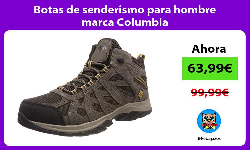 Botas de senderismo para hombre marca Columbia