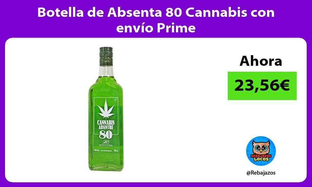 Botella de Absenta 80 Cannabis con envio Prime
