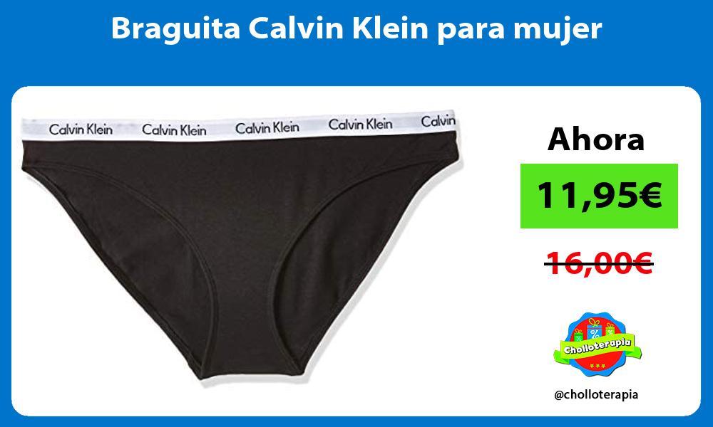 Braguita Calvin Klein para mujer