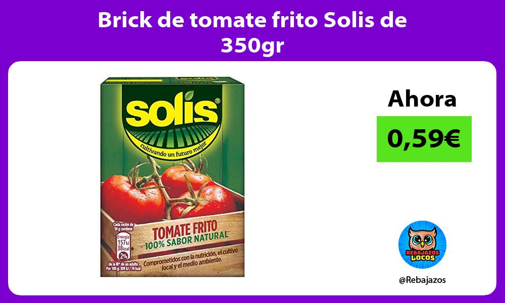 Brick de tomate frito Solis de 350gr