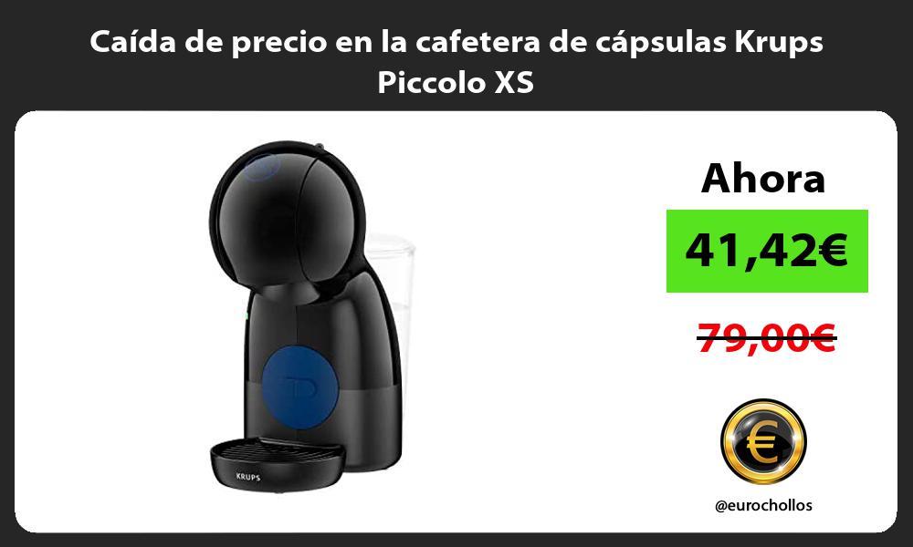 Caida de precio en la cafetera de capsulas Krups Piccolo XS