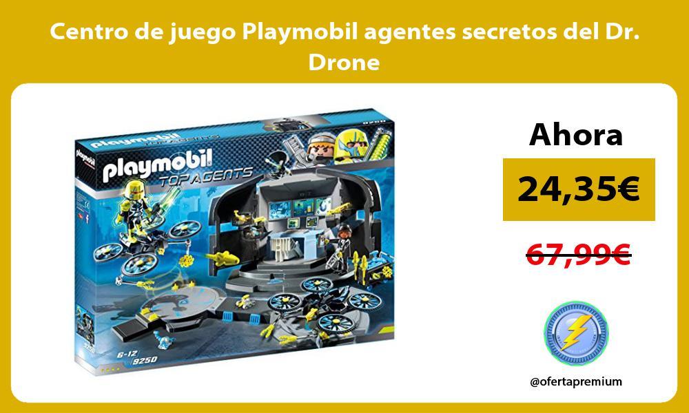 Centro de juego Playmobil agentes secretos del Dr Drone