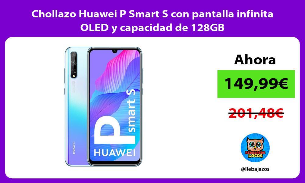 Chollazo Huawei P Smart S con pantalla infinita OLED y capacidad de 128GB