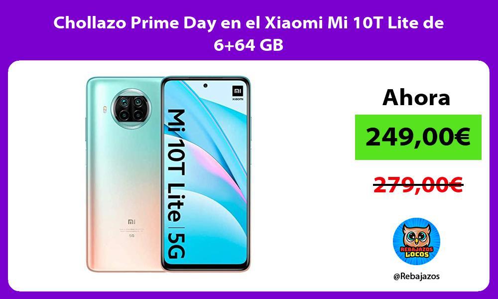 Chollazo Prime Day en el Xiaomi Mi 10T Lite de 664 GB