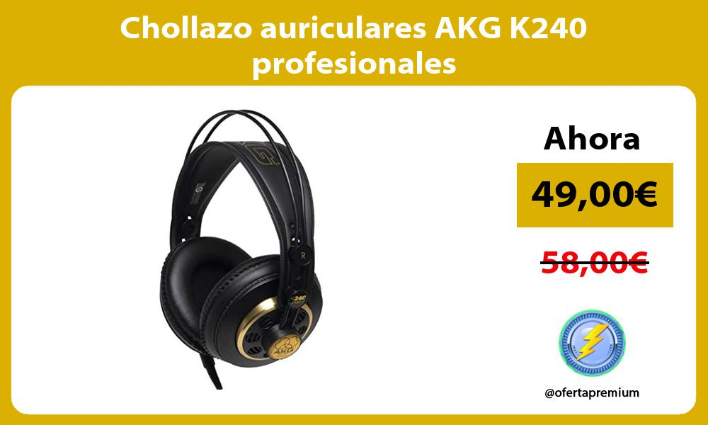Chollazo auriculares AKG K240 profesionales