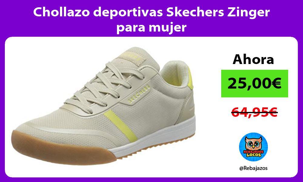 Chollazo deportivas Skechers Zinger para mujer