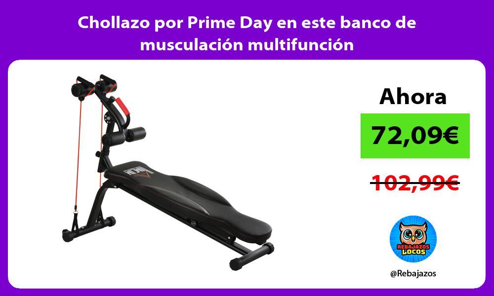 Chollazo por Prime Day en este banco de musculacion multifuncion