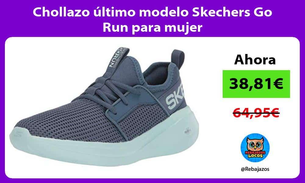 Chollazo ultimo modelo Skechers Go Run para mujer