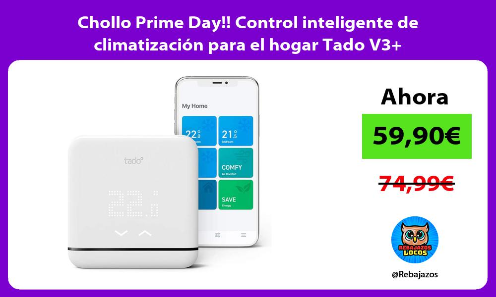 Chollo Prime Day Control inteligente de climatizacion para el hogar Tado V3