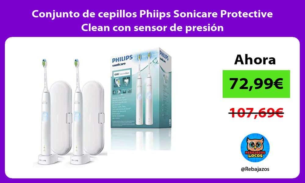 Conjunto de cepillos Phiips Sonicare Protective Clean con sensor de presion