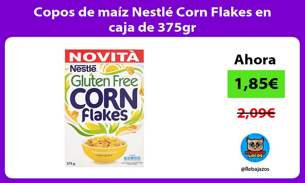 Copos de maiz Nestle Corn Flakes en caja de 375gr