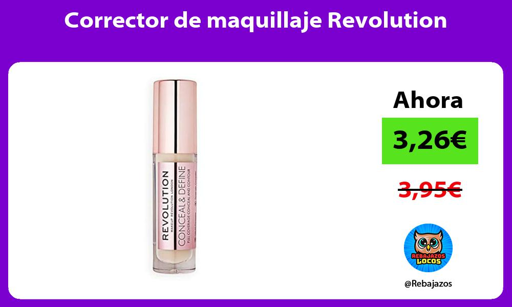 Corrector de maquillaje Revolution