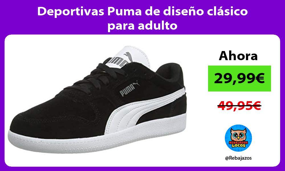 Deportivas Puma de diseno clasico para adulto