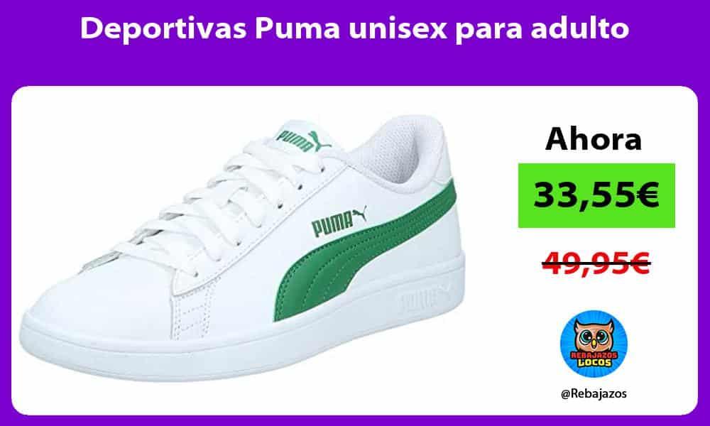 Deportivas Puma unisex para adulto