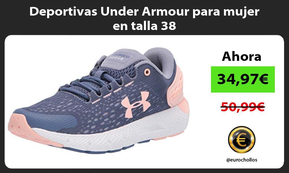 Deportivas Under Armour para mujer en talla 38