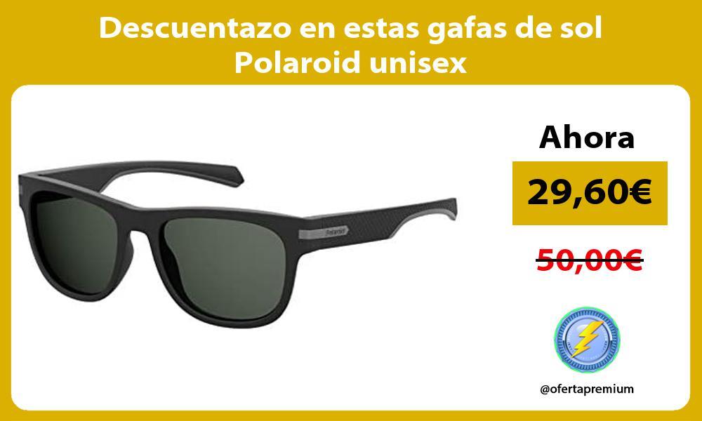 Descuentazo en estas gafas de sol Polaroid unisex