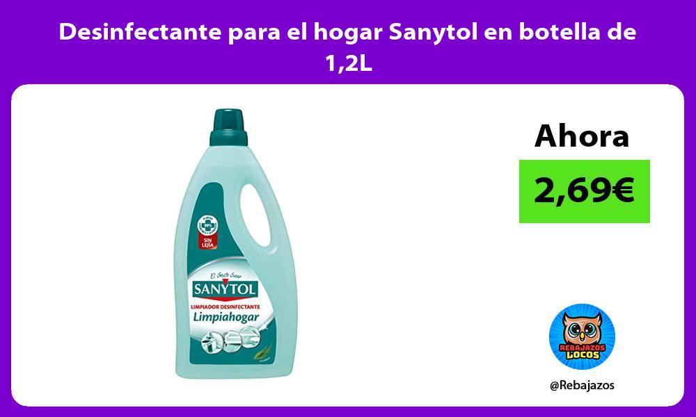 Desinfectante para el hogar Sanytol en botella de 12L