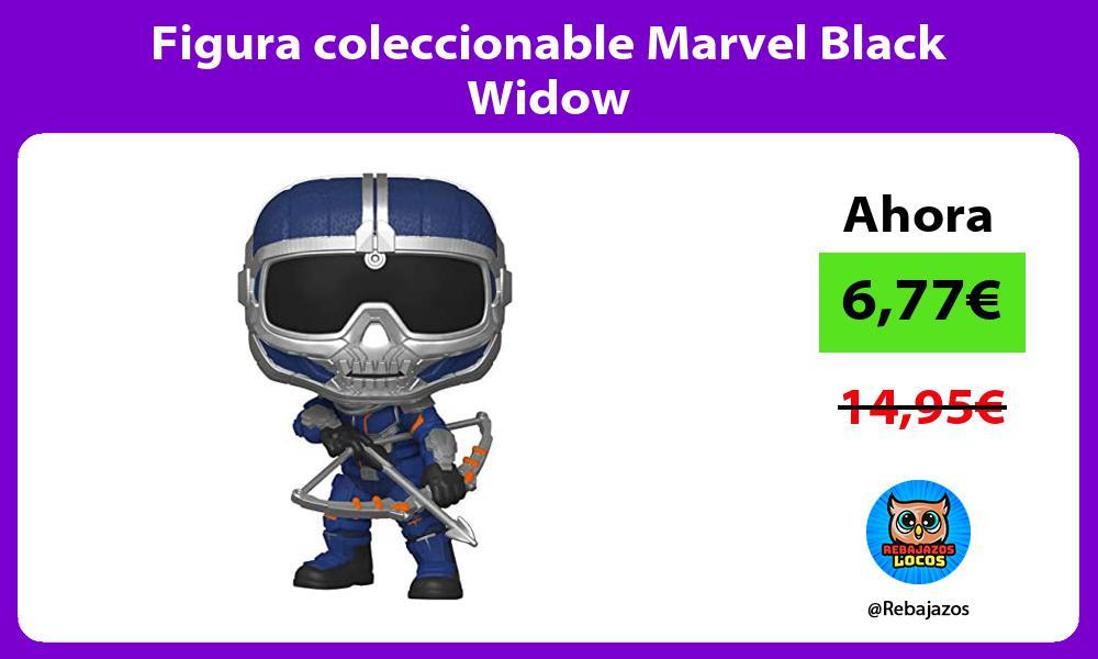 Figura coleccionable Marvel Black Widow