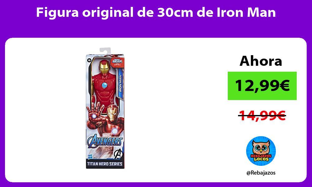 Figura original de 30cm de Iron Man