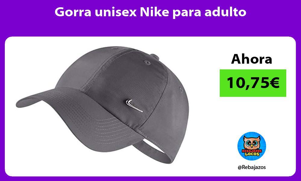 Gorra unisex Nike para adulto