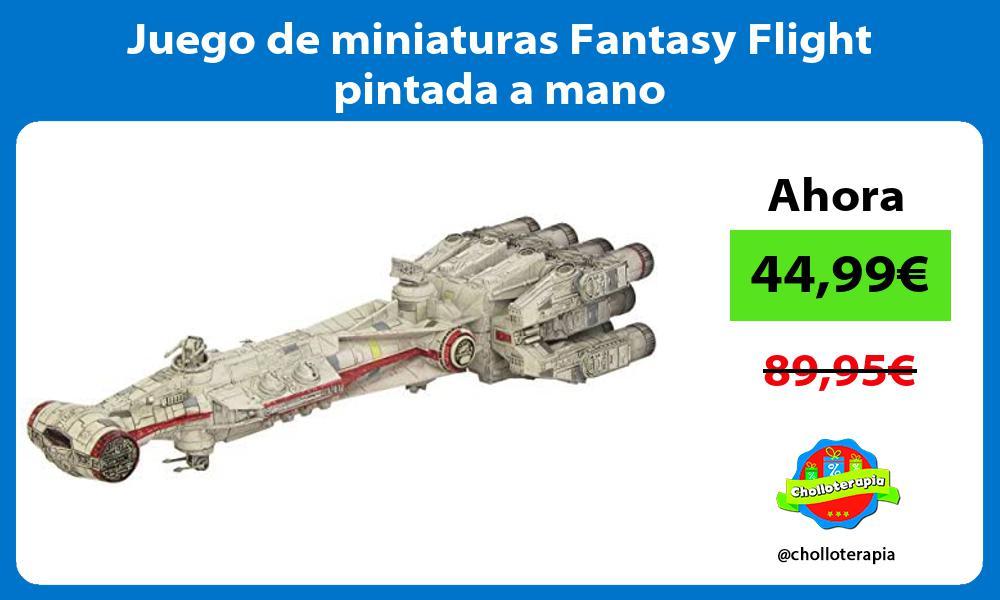 Juego de miniaturas Fantasy Flight pintada a mano