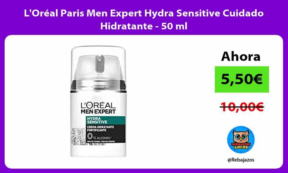 LOreal Paris Men Expert Hydra Sensitive Cuidado Hidratante 50 ml