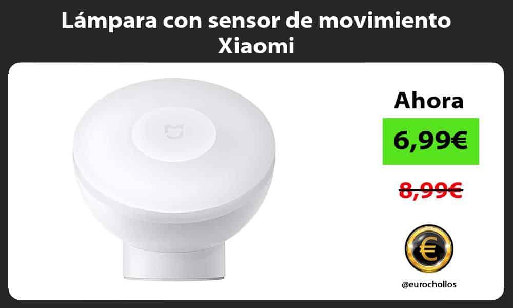 Lampara con sensor de movimiento Xiaomi