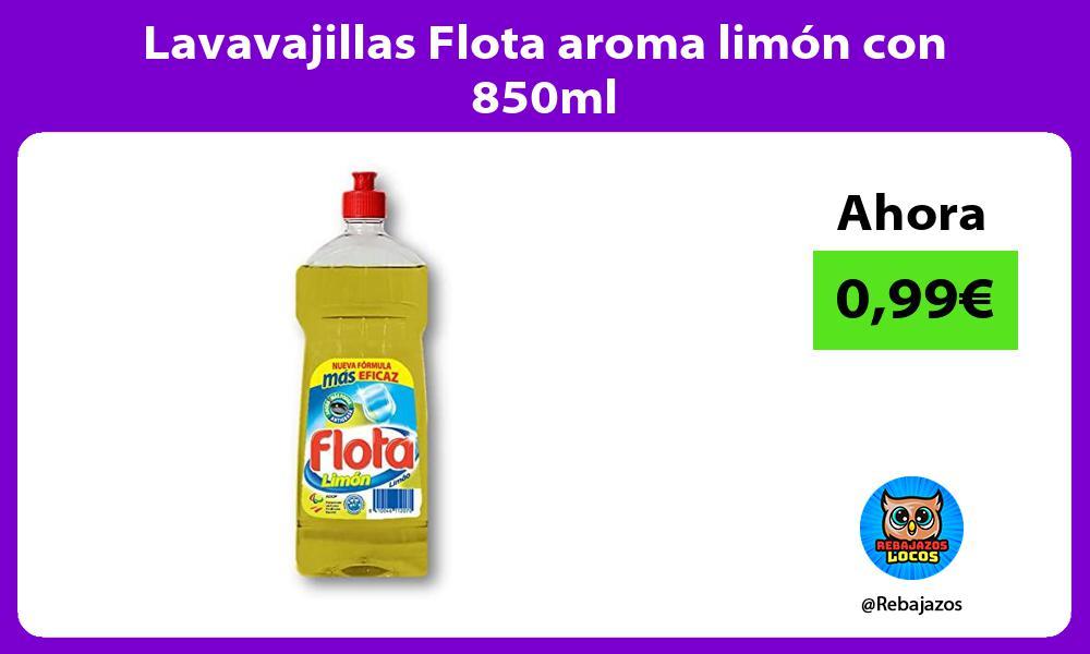 Lavavajillas Flota aroma limon con 850ml