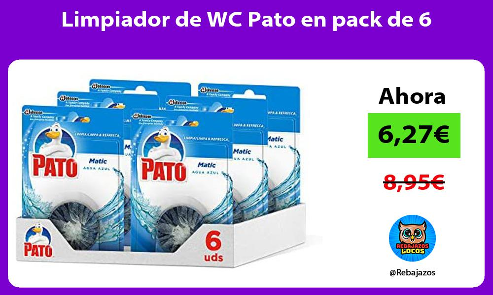Limpiador de WC Pato en pack de 6