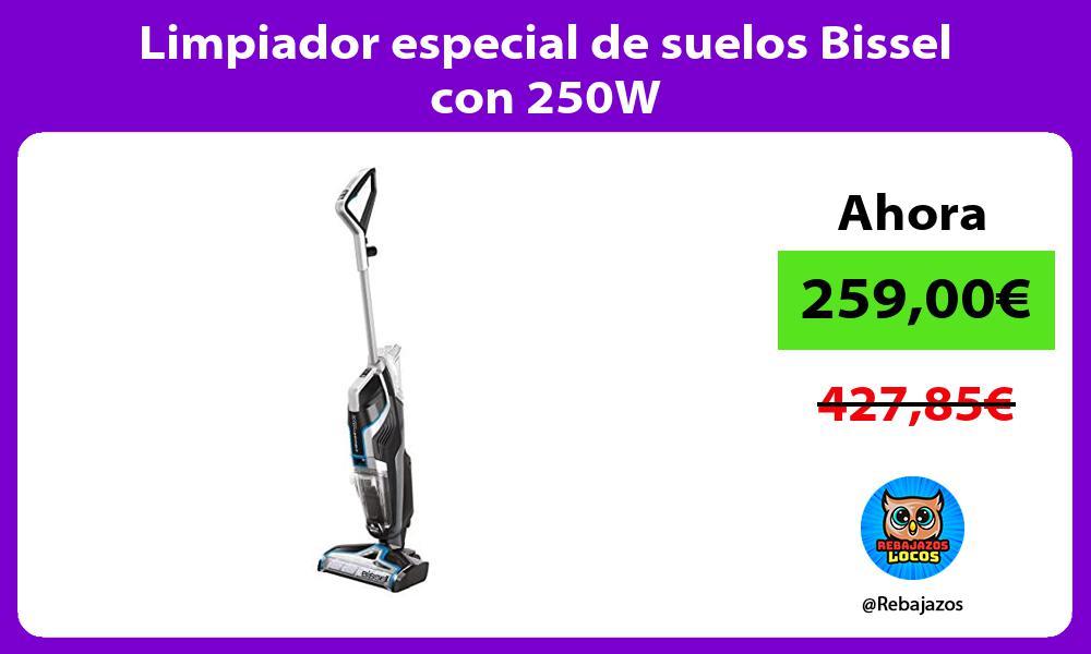 Limpiador especial de suelos Bissel con 250W