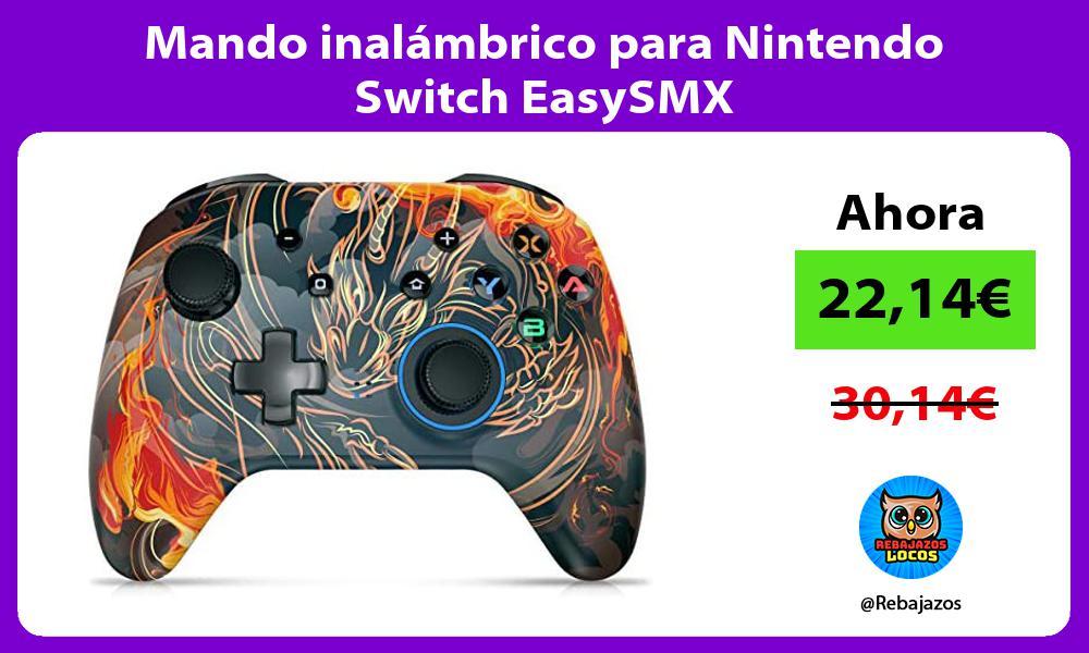 Mando inalambrico para Nintendo Switch EasySMX