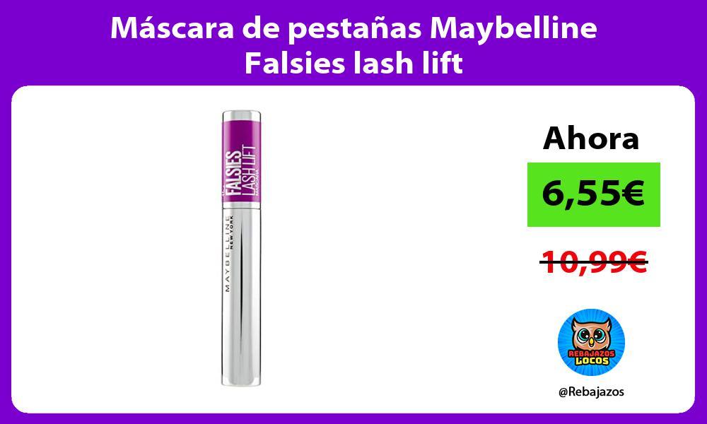 Mascara de pestanas Maybelline Falsies lash lift