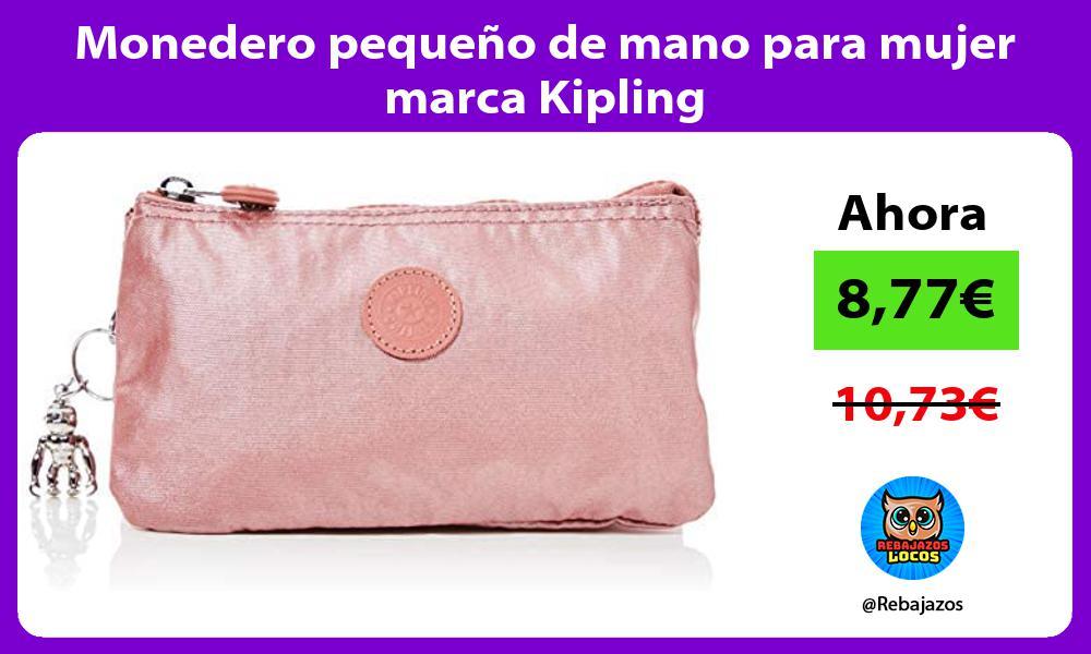 Monedero pequeno de mano para mujer marca Kipling