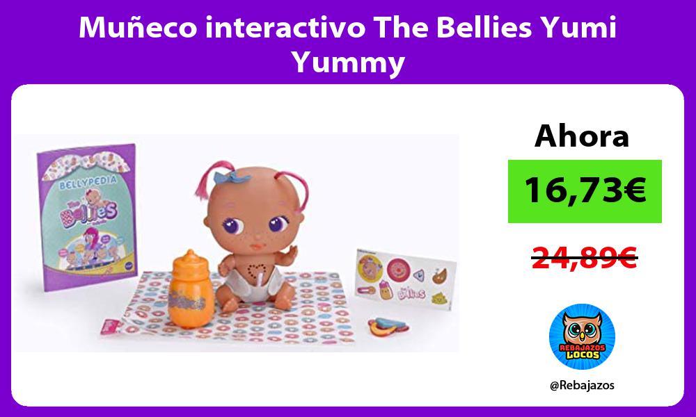 Muneco interactivo The Bellies Yumi Yummy