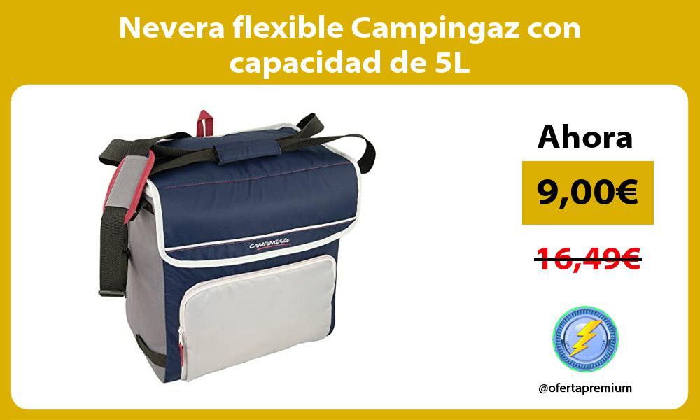 Nevera flexible Campingaz con capacidad de 5L