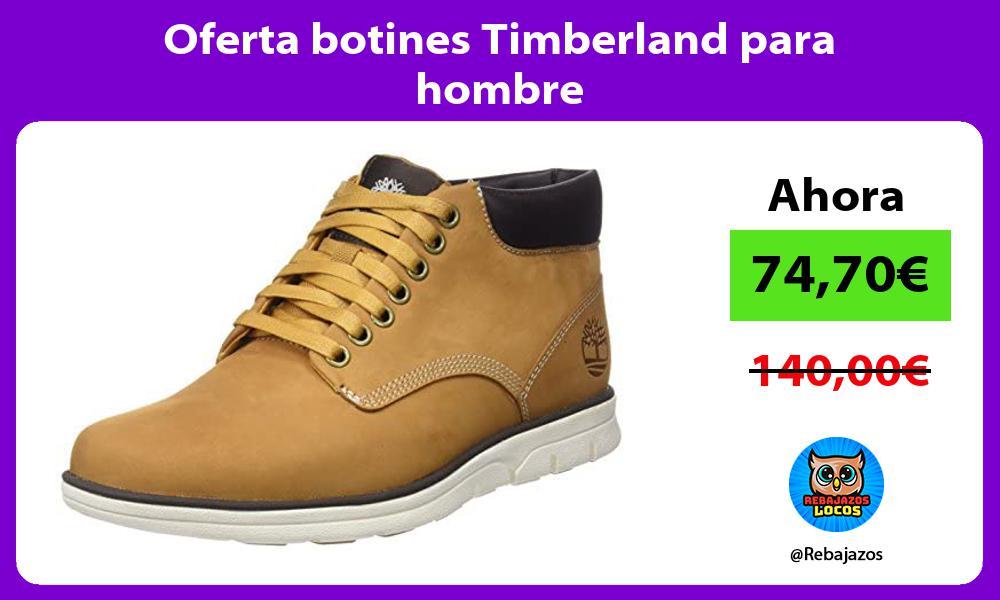 Oferta botines Timberland para hombre
