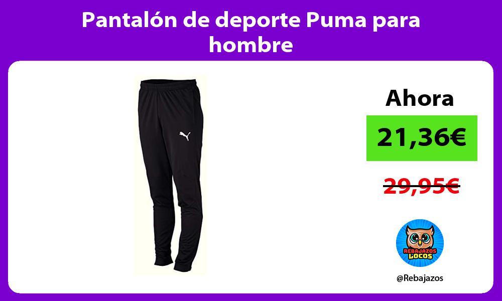 Pantalon de deporte Puma para hombre