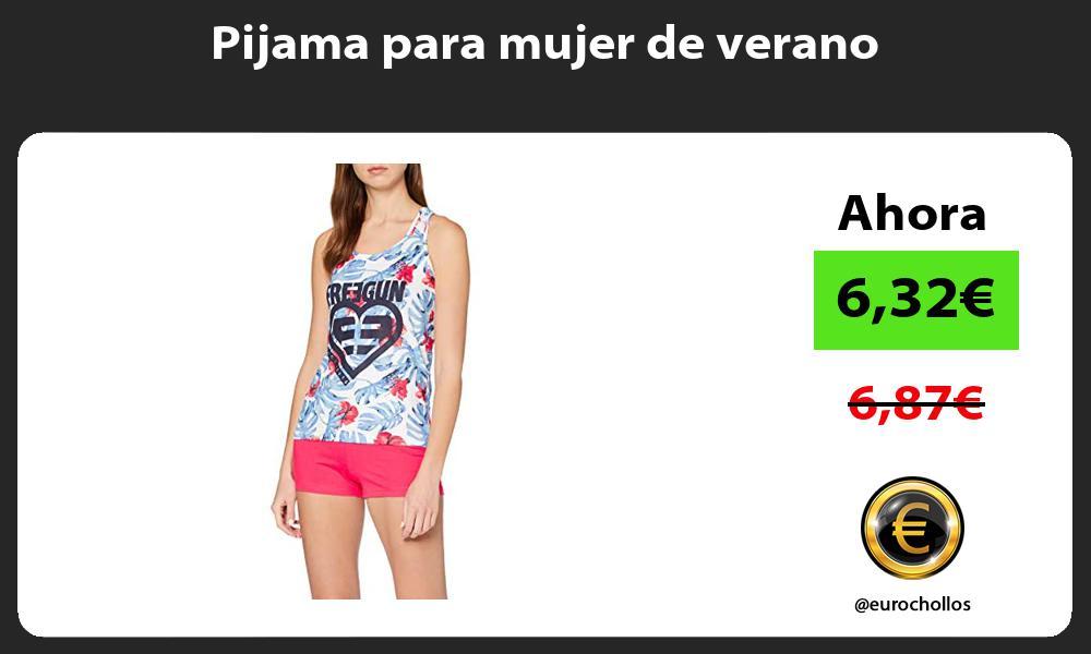 Pijama para mujer de verano