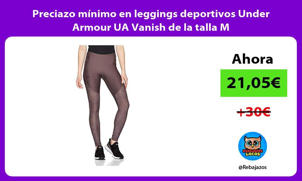 Preciazo minimo en leggings deportivos Under Armour UA Vanish de la talla M