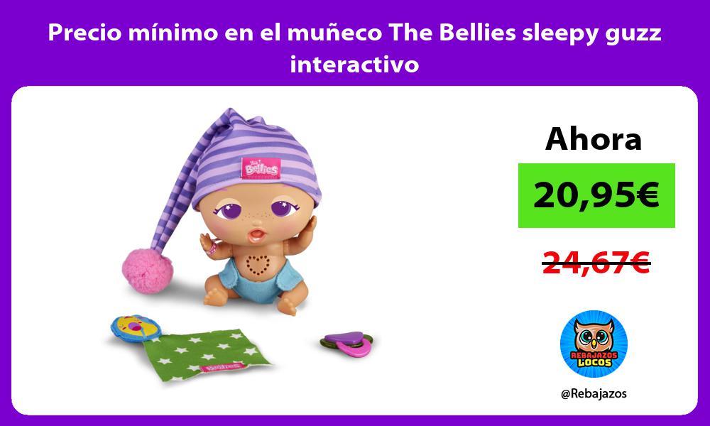 Precio minimo en el muneco The Bellies sleepy guzz interactivo