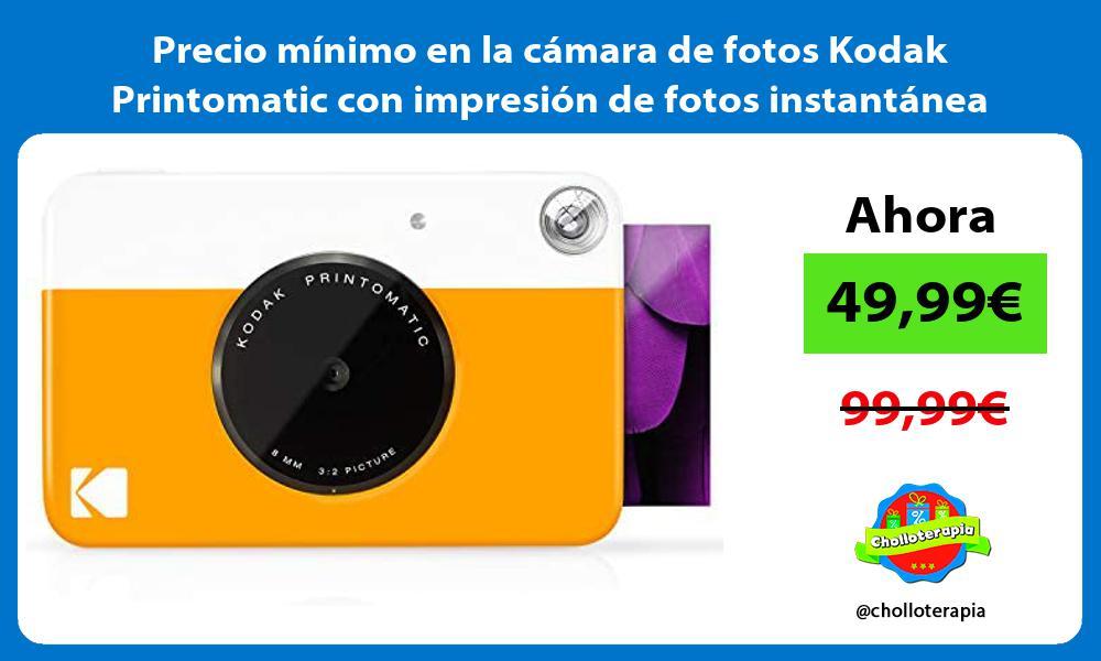 Precio minimo en la camara de fotos Kodak Printomatic con impresion de fotos instantanea