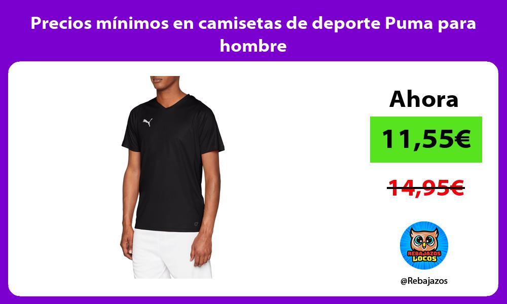 Precios minimos en camisetas de deporte Puma para hombre