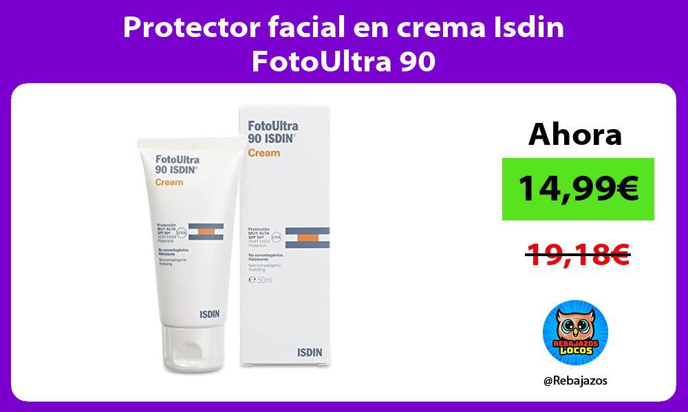 Protector facial en crema Isdin FotoUltra 90