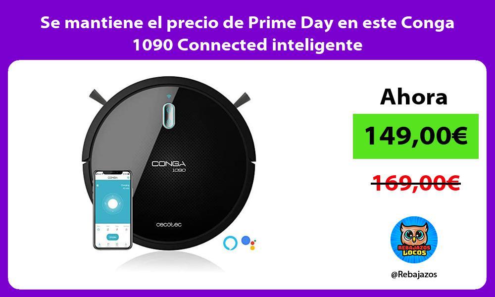 Se mantiene el precio de Prime Day en este Conga 1090 Connected inteligente